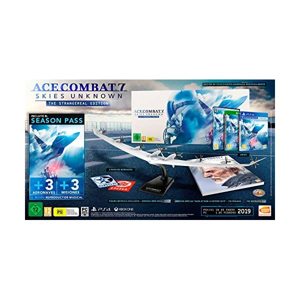 Ace Combat 7: Skies Unknown Collector's Edition (PC) 51cluFjJYFL