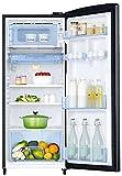 Samsung 192 L 3 Star Direct Cool Single Door Refrigerator(RR20N1Y2ZB3/HL/RR20N2Y2ZB3/NL, Rose Mallow Black, Inverter Compressor)