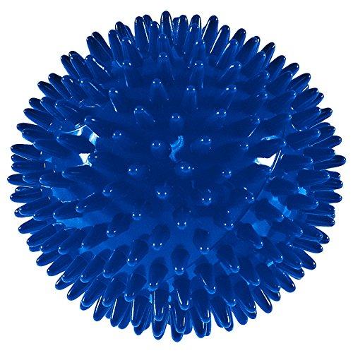 Igelball Massageball Reflexzonen Massage Selbstmassage 10 cm BLAU