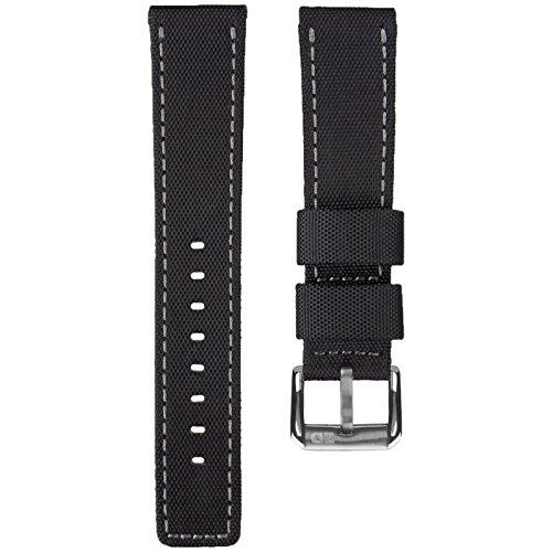 correa-de-reloj-zuludiverr-nylon-impermeable-negro-gris-22mm