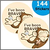 I've been brave - Bravery Reward Stickers