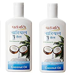 Patanjali Coconut Oil, 200ml (Pack of 2)