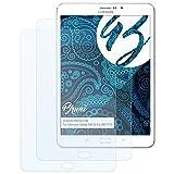 Bruni Schutzfolie für Samsung Galaxy Tab S2 8.0 (SM-T715) Folie - 2 x glasklare Displayschutzfolie