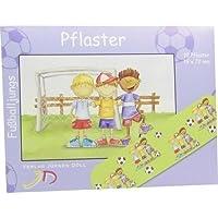 KINDERPFLASTER Fußballjungs Briefchen 10 St Pflaster preisvergleich bei billige-tabletten.eu