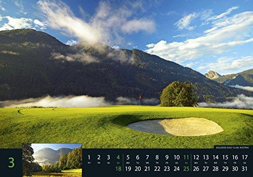 Golf 2018 - Sportkalender / Golfkalender international (49 x 34) - 5
