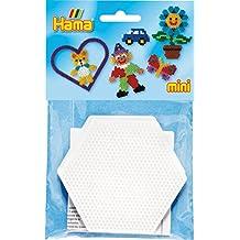 Las placas hexagonales Bolsa Mini - - Hama - 5204h 2 Piezas