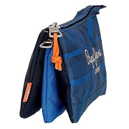 51cm%2BV3DsJL. SS416  - Pepe Jeans Fabio Neceser de Viaje, 22 cm, 1.32 litros, Azul