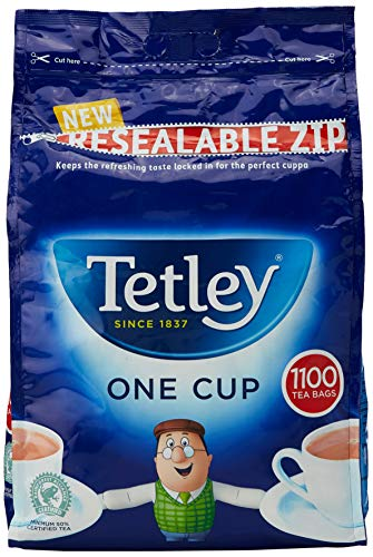 Tetley One Cup Tea Bags Catering Pack (Pack of 1100)