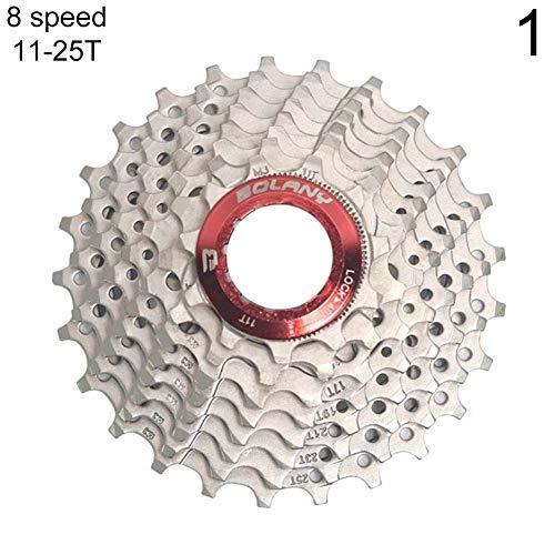 Duk3ichton Radfahren MTB Mountainbike 8/9 Speed Kassetten Freilauf Schwungrad Fahrradteile - 8-Gang 11-25T - 8speed Kassette