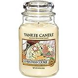 YANKEE CANDLE 8357 House fabricada en cristal 625 G galleta navideña