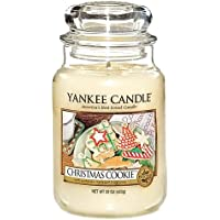 Yankee Candle Large Jar Candle, Christmas Cookie