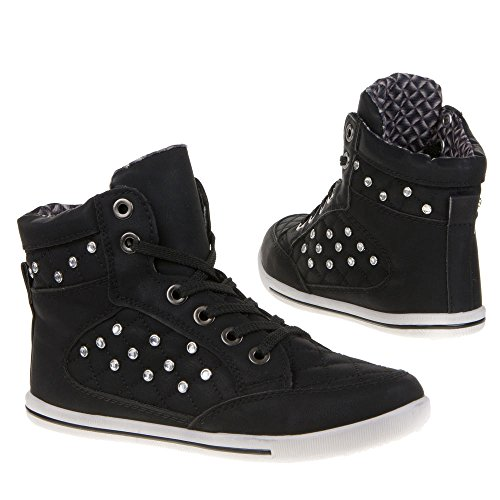 Ital-mD932, chaussures Noir - Noir