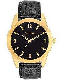 Austere Aristocrat Analogue Black Dial Men's Watch (MARST-0202G)(MARST-0202G)
