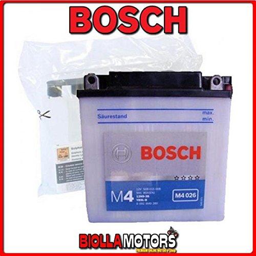 Preisvergleich Produktbild 0092 m4 F260 Batterie Bosch 12 N9 – 3B mit Säure 12 N93B Moto Scooter QUAD CROSS