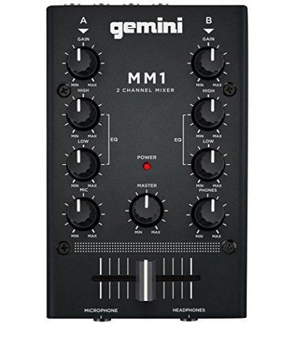 GEMINI, MM1, mini mixer analogico a 2 canali