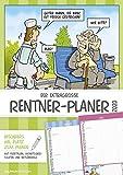 Der extragroße Rentner-Planer 2020 - Wandplaner A3 (30 x 42) - mit witzigen Cartoons - mit Monatsübersichten und Ferienterminen - Wandkalender: by Dirk Pietrzak