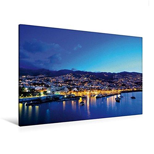 Premium Textil-Leinwand 120 cm x 80 cm quer, Madeira, Portugal | Wandbild, Bild auf Keilrahmen, Fertigbild auf echter Leinwand, Leinwanddruck (CALVENDO Orte)