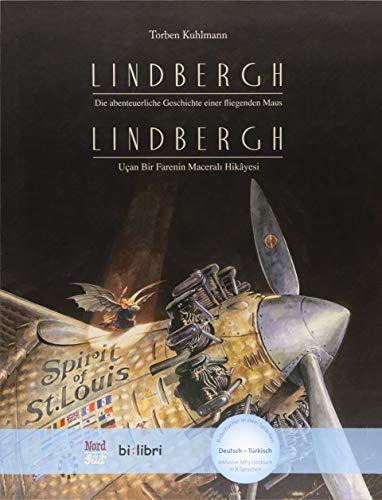 Lindbergh: Die abenteuerliche Geschichte einer fliegenden Maus / Kinderbuch Deutsch-Türkisch mit MP3-Hörbuch zum Herunterladen