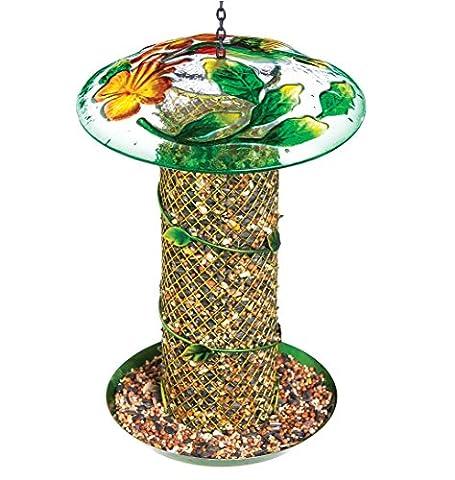 Evergreen Hummingbird vigne emballé à suspendre mangeoire pour oiseaux