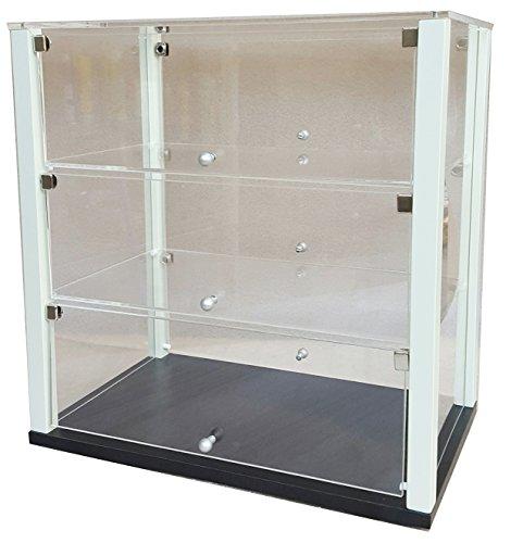Vetrina per brioches neutra in plexiglass e mdf - vetrina da banco, espositore bar