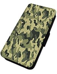Ejército patrón de camuflaje–camuflaje–Funda con tapa tipo cartera funda Samsung A5 (2015)