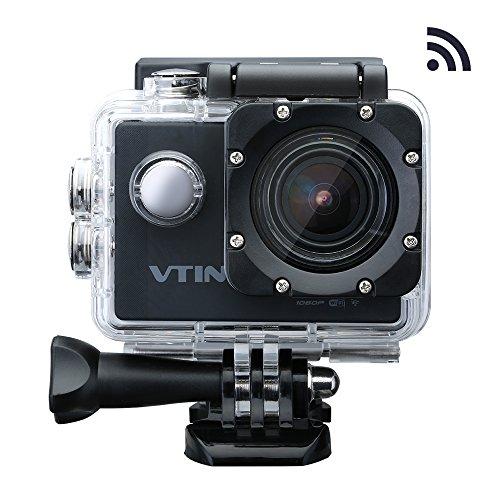 VicTsing-Eypro1-Cmara-Accin-Deportiva-WIFI-1080P-Resistente-al-Agua1080p-Vdeo-y-12MP-Imagen-UHDSumergible-hasta-30m-y-Amplio-ngulo-de-Visin-170DVR-Videocmara-Completos-Accesorios-de-Cmara-Deportiva-y-