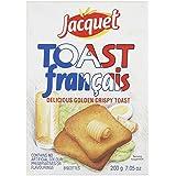 Jacquet - Biscottes - lot de 4 paquets de 200 g