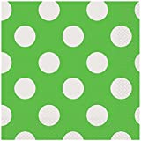 Polka Dot Paper Napkins, Pack of 16
