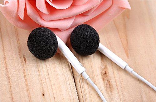 24 PACK Schaumstoff-Ohrpolster Ear Bud Ohrhörer Pad Ersatz Sponge Covers für Kopfhörer, MP3 MP4 iPod iTouch Iphone Ipad Headsets GadgetBrat von - 3