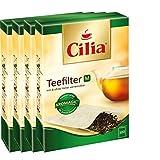 CILIA® Teefilter 100Stk. Grösse M mit/ohne Halter verwendbar ( 4er Pack )