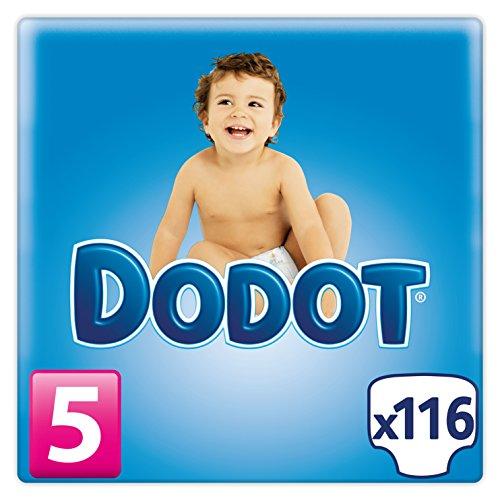 Dodot, Talla 5 (11-17 kg), 116 pañales