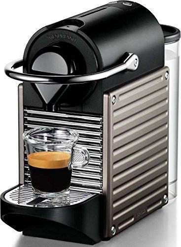 Nespresso Pixie Titan XN3005 Krups - Cafetera monodosis (19 bares,...