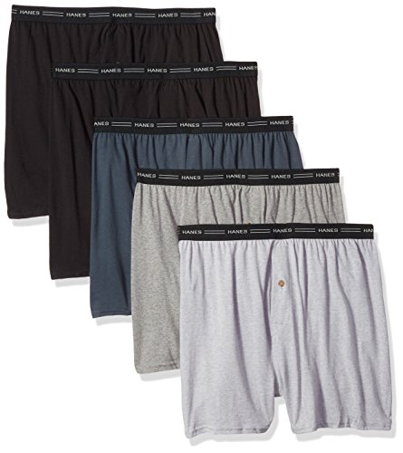 Hanes Men's TAGLESS® ComfortSoft® Knit Boxer with Comfort Flex® (Boxer-shorts Hanes)