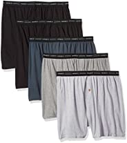 Hanes Men's Knit Boxers pack of 5 Bo