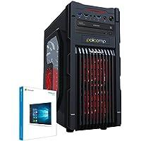 PALICOMP Gaming PC INTEL Skylake i7 6700K 4.0Ghz Turbo 4.2Ghz Quad Core - 16GB 2133Mhz Crucial Ballistix Sport - 2TB Sata3 HDD - NVIDIA GTX1070 8GB - 1080p Gaming System - Win 10 - Game Max GM1 Red Case