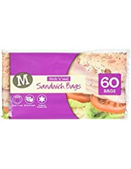 Morrisons Easy Seal Sandwich Bag, 60 Bags