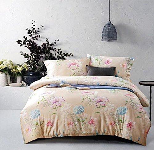 Cuatro conjuntos de ropa de cama de algodón