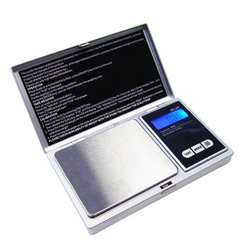G & G MS-S 500g/0,01g Taschenwaage Feinwaage Digitalwaage Goldwaage Münzwaage Scale