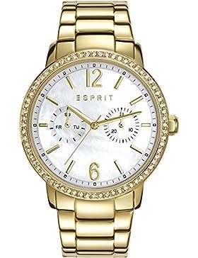 Esprit Damen-Armbanduhr Kate Analog Quarz Edelstahl ES108092008