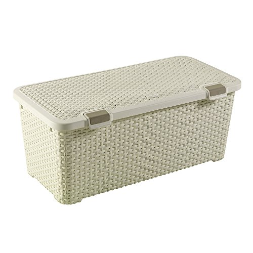CURVER Behälter STYLE 72L Style Box 72L Behälter, Polypropylen, cremig, 79x40x33, 4