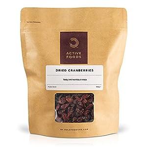 BULK POWDERS Getrocknete Cranberries, 500 g