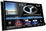 """Kenwood DNX-8160DABS Sistema di Navigazione con Display Touchscreen da 7"""", Nero"""