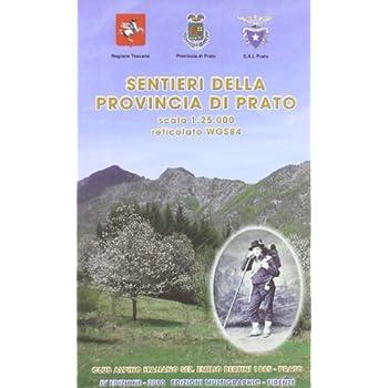 Carta Sentieri Della Provincia Di Prato