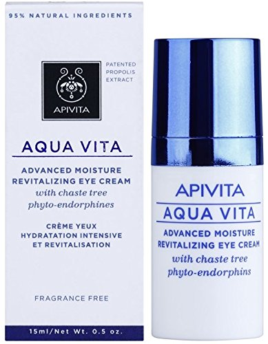 Apivita Aqua Vita (Apivita Aqua Vita 24h Creme Augen Feuchtigkeitsspendend Belebendes 15ml)