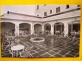 Antigua Postal - Old Postcard : CALELLA - Hotel Bahía, patio - España