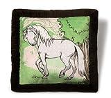 Nici 35348 - Kissen Pferd Apfelschimmel 40 x 40 cm