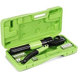 Nordstrand Coffret de Presse à Sertir Outil de Sertissage Hydraulique - 4-70 mm²