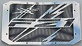 Heizkörperabdeckung/Heizungsgitter, 1000 FZ1 und FZ1 Fazer 2006 >2015, Design Eclair + Gitter, Schwarz