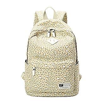 51cmDZiWzRL. SS324  - Moollyfox Mujer Estampado de leopardo Mochila de Viaje Estilo de muy buen gusto bolso de escuela la capacidad grande Mochila para estudiantes