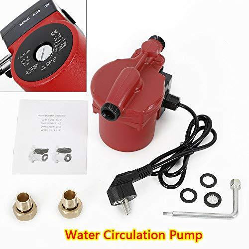 OUKANING Zirkulator NPT 3/4 Zoll 145 PSI für Zentralheizung Umwälzpumpe Umwälzpumpe Warmwasser Sanitär Zentralheizung 100 W -